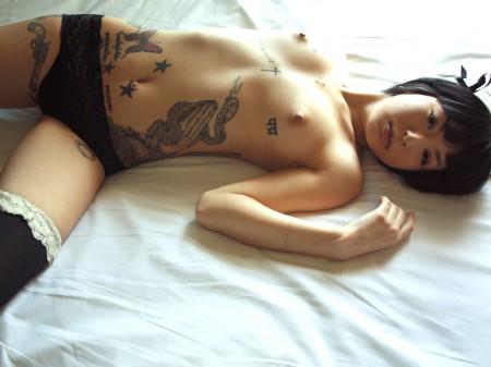 татуировка японочки