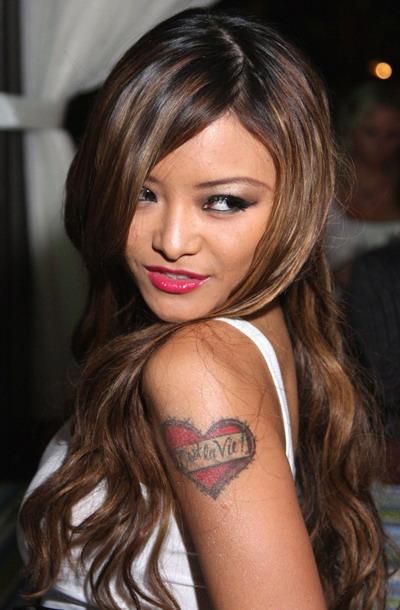 Татуировки одной из самых скандальных звезд MTV бисексуалки Тилы Текилы